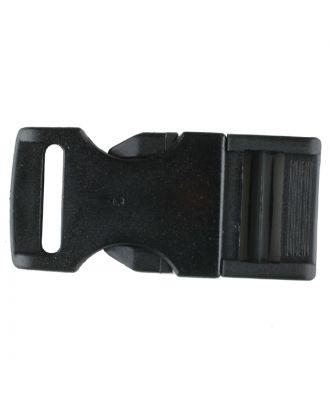 Steckschließe aus Polyamid - Größe: 30mm - Farbe: schwarz - Art.Nr. 400904