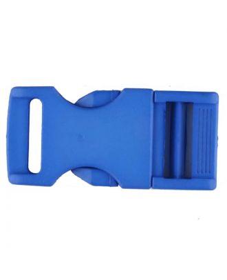 Steckschließe aus Polyamid - Größe: 30mm - Farbe: blau - Art.Nr. 400257