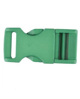 Steckschließe aus Polyamid - Größe: 30mm - Farbe: grün - Art.Nr. 400259