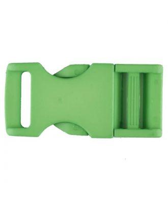 Steckschließe aus Polyamid - Größe: 30mm - Farbe: grün - Art.Nr. 400260