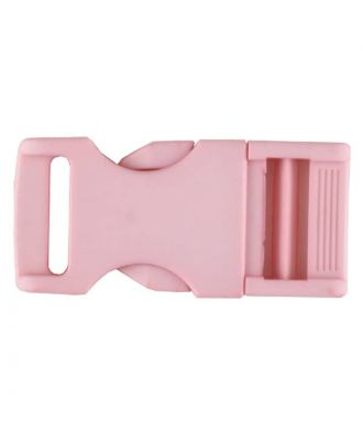 Steckschließe aus Polyamid - Größe: 30mm - Farbe: pink - Art.Nr. 400261