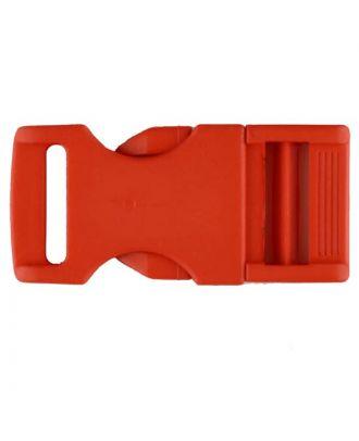 Steckschließe aus Polyamid - Größe: 20mm - Farbe: rot - Art.Nr. 331068
