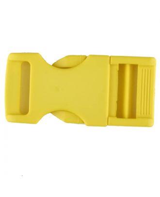 Steckschließe aus Polyamid - Größe: 20mm - Farbe: gelb - Art.Nr. 331069