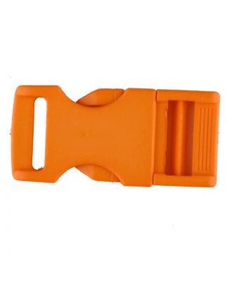 Steckschließe aus Polyamid - Größe: 20mm - Farbe: orange - Art.Nr. 331070
