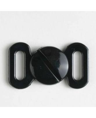 Schließe - Größe: 10mm - Farbe: schwarz - Art.-Nr.: 330912