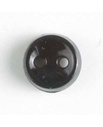 winziger Puppenknopf - Größe: 7mm - Farbe: schwarz - Art.Nr. 150170