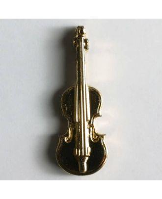 Geigenknopf - Größe: 30mm - Farbe: gold - Art.Nr. 320101