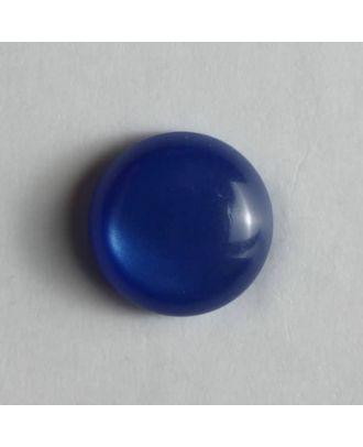 schlichter Puppenknopf - Größe: 8mm - Farbe: blau - Art.Nr. 181079