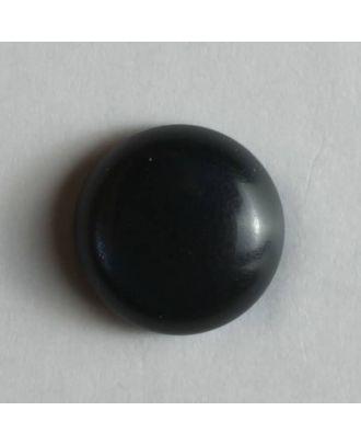 schlichter Puppenknopf -  Größe: 8mm - Farbe: blau - Art.Nr. 181080