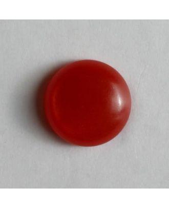 schlichter Puppenknopf - Größe: 8mm - Farbe: rot - Art.Nr. 181083