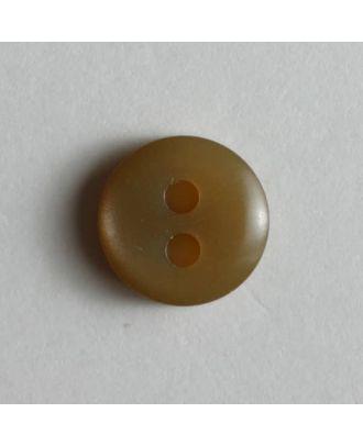 schlichter Puppenknopf - Größe: 8mm - Farbe: beige - Art.Nr. 181089