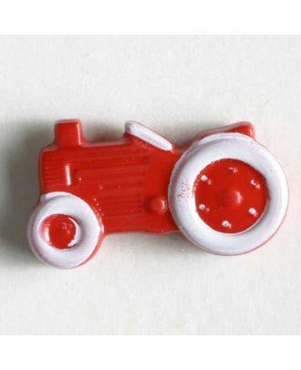 Polyamidknopf - Größe: 25mm - Farbe: rot - Art.-Nr.: 340780