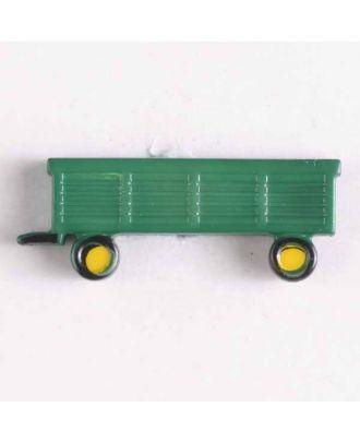 Kinderknopf Anhänger - Größe: 29mm - Farbe: grün - Art.Nr. 340785
