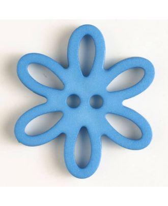 Polyamidknopf - Größe: 28mm - Farbe: blau - Art.-Nr.: 330746