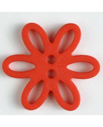 Polyamidknopf - Größe: 28mm - Farbe: rot - Art.-Nr.: 330751