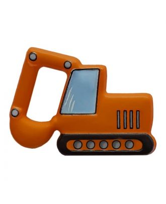 Bagger mit Öse - Größe: 28mm - Farbe: orange - Art.Nr. 341311