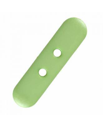 Zuckerstreusel Polyamid mit zwei Löchern - Größe: 10mm - Farbe: grün - Art.Nr. 281171