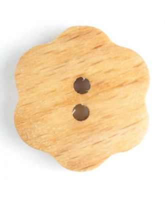 Holzknopf   - Größe: 15mm - Farbe: braun - Art.-Nr.: 231609