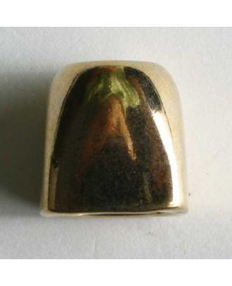 Kordelende, vollmetall - Größe: 15mm - Farbe: gold - Art.Nr. 260292