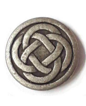 Keltischer Knoten mit Öse - Größe: 23mm - Farbe: altzinn - Art.Nr. 331148