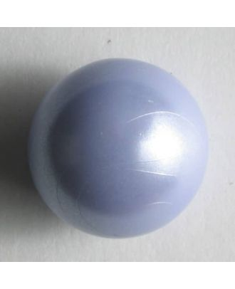 Kunststoffknopf Kugelform - Größe: 8mm - Farbe: lila - Art.Nr. 201187