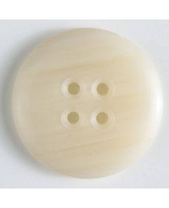 Modeknopf - Größe: 30mm - Farbe: beige - Art.-Nr.: 340033