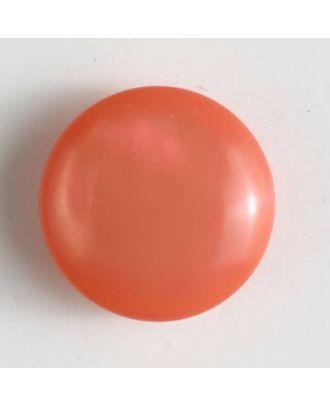 Kunststoffknopf rund, gewölbte Form mit Öse - Größe: 18mm - Farbe: pink - Art.Nr. 261174