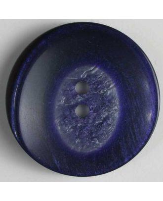 Kunststoffknopf mit interessantem Farbverlauf - Größe: 25mm - Farbe: lila - Art.Nr. 320517