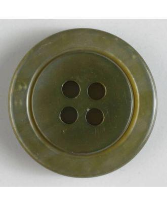 Modeknopf - Größe: 25mm - Farbe: grün - Art.-Nr.: 320541