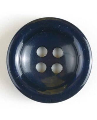 Modeknopf - Größe: 20mm - Farbe: dunkelblau - Art.-Nr.: 330629