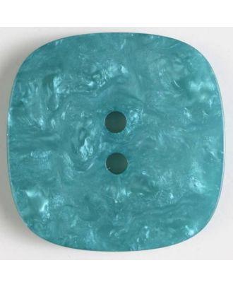 Polyesterknopf mit Löchern - Größe: 34mm - Farbe: grün - Art.Nr. 400247