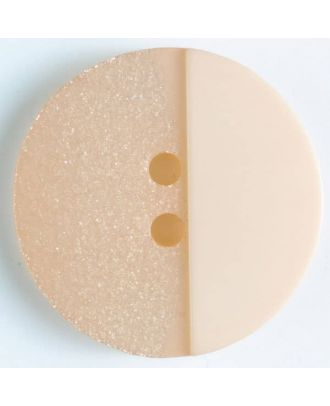 Polyesterknopf mit Löchern - Größe: 28mm - Farbe: pink - Art.Nr. 380298