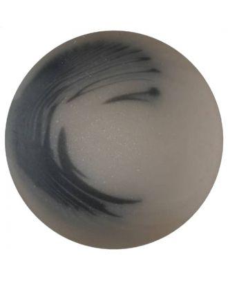 Polyesterknopf Marmoreffekt mit Öse - Größe: 20mm - Farbe: beige - Art.Nr. 337701