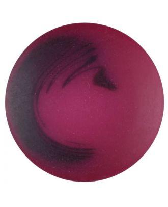 Polyesterknopf Marmoreffekt mit Öse - Größe: 25mm - Farbe: pink - Art.Nr. 377706