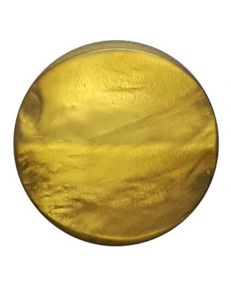 Polyesterknopf mit Öse Perlmuttimitat matt - Größe: 20mm - Farbe: grün - Art.Nr. 333803