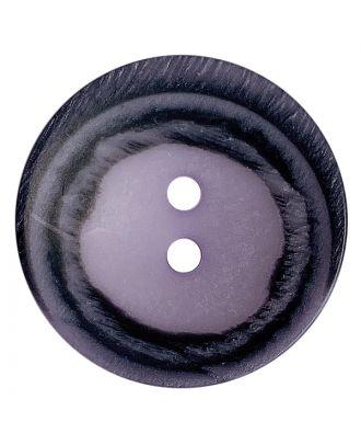 Polyesterknopf rund in matter Optik mit Struktur und 2 Löchern - Größe:  28mm - Farbe: flieder - ArtNr.: 388804