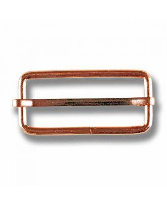 Leiterschnalle - Größe: 50mm - Farbe: rose gold - Art.Nr. 430090