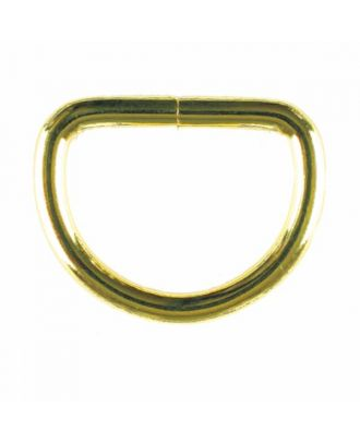 D-Ring - Größe: 30mm - Farbe: gold - Art.Nr. 331191