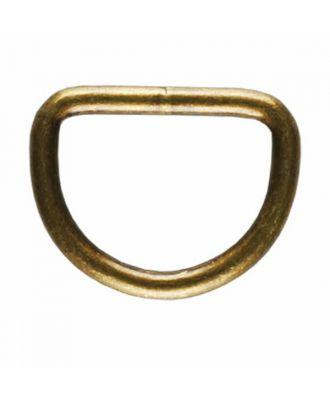 D-Ring - Größe: 20mm - Farbe: altmessing - Art.Nr. 261345